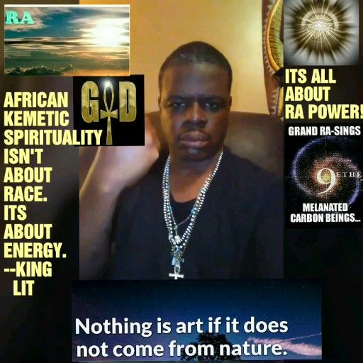 AFRICAN KEMETIC SPIRITUALITY ISN'T ABOUT RACE, ITS ABOUT ENERGY