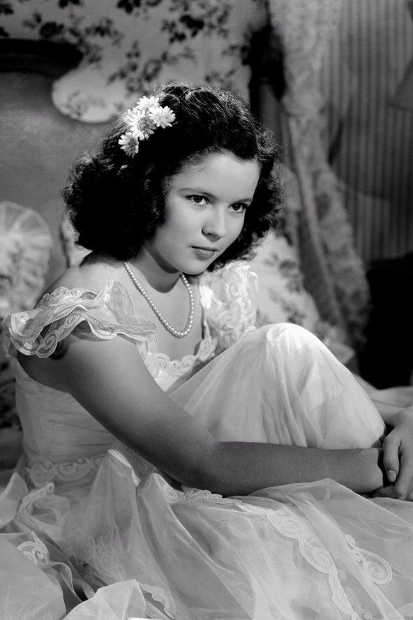 "Shirley Temple ""Kathleen"" While at MGM in 1941, Shirley's mother turned down Babes on Broadway (1941), Panama Hattie (1942), National Velvet (1944), an Andy Hardy entry and Barnacle Bill (1941) as not showcasing the Shirley properly. MGM finally put her into Kathleen (1941) and settled her contract."