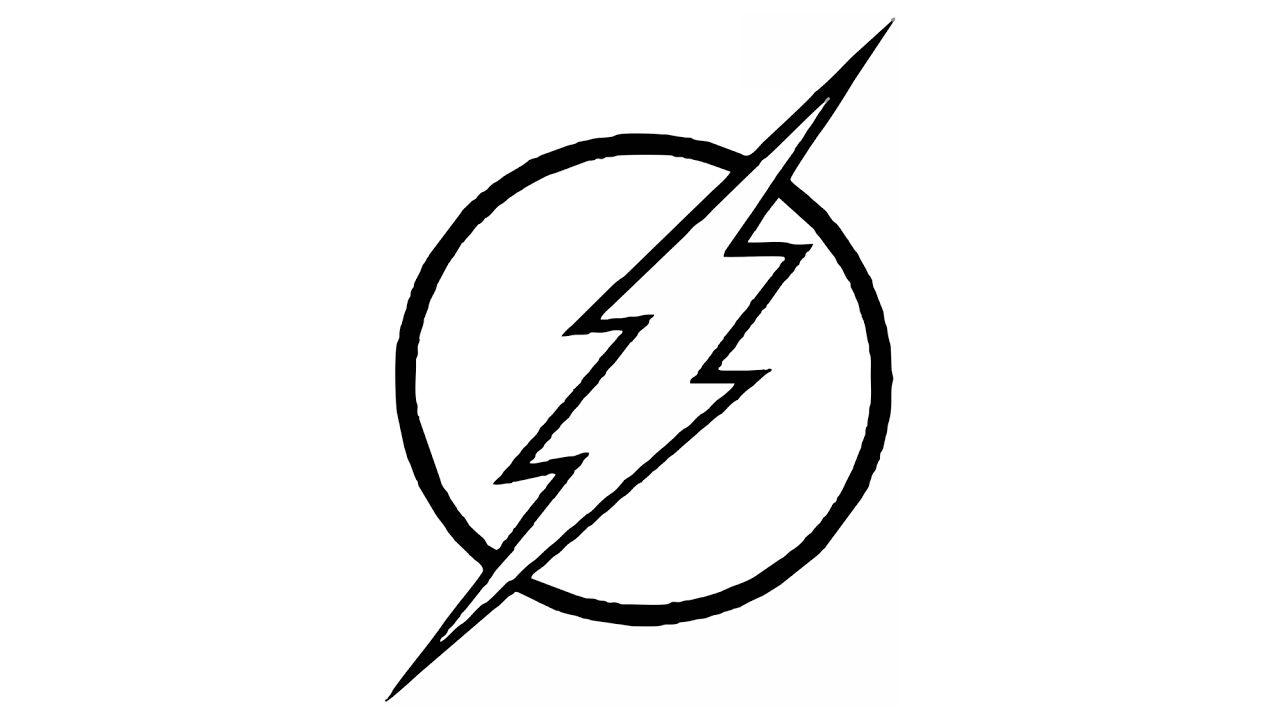 Resultado De Imagen De Dibujo De Flash Para Colorear Flash Dibujo Flash Imagenes De Dibujos