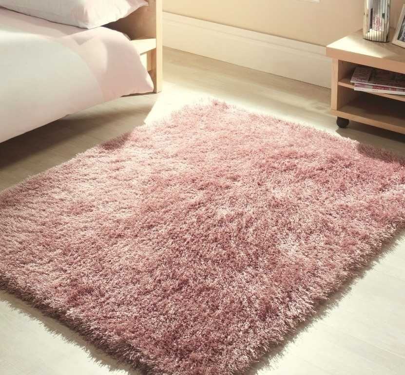 Premia Shaggy - Soft Pink Rugs | Modern Rugs | For the Home ...