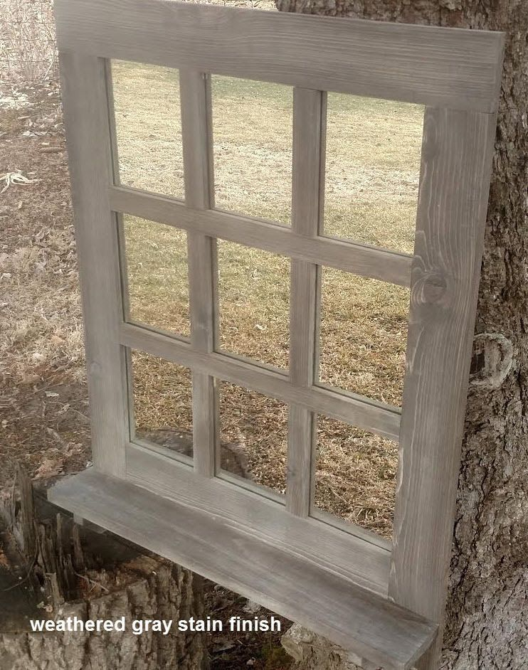 Details About Sale Rustic Shabby Decor Window 9 Pane Mirror With Shelf Six Color Options In 2019 Home Decor Mirrors Mirror With Shelf Window Pane Mirror