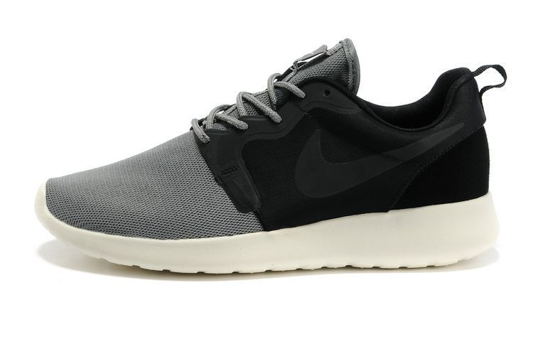 the latest d9f25 48bb6 Roshe Run HYP QS Homme Marine Pour Nike Noir Gris