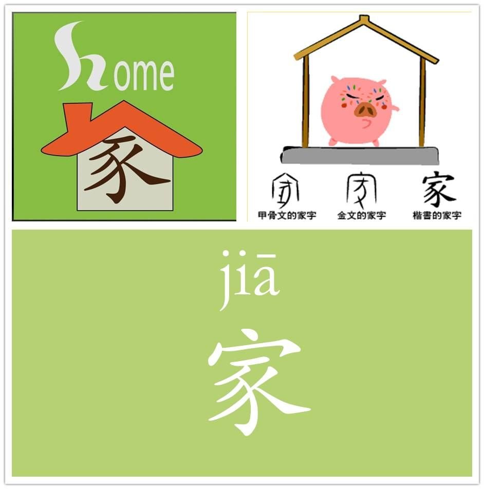 Home Family 家 Learn Chinese Characters Learn Chinese Chinese