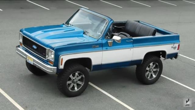 1973 Chevrolet Blazer 454 K5 Chevy Blazer Chevy Blazer
