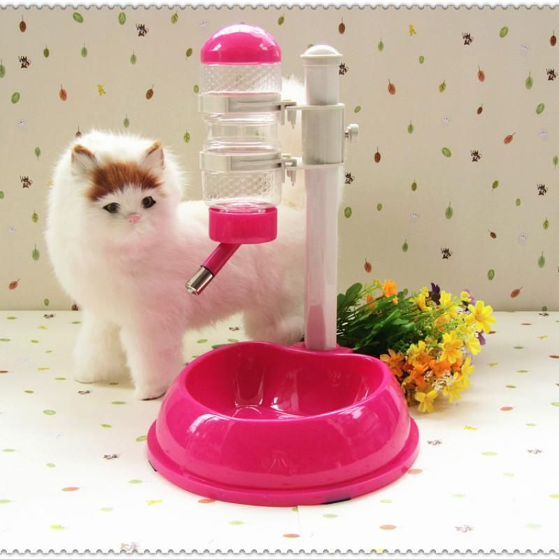 Adjustable automatic dog cat drinking fountains water