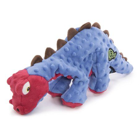 Godog Dinos Spike With Chew Guard Technology Durable Plush