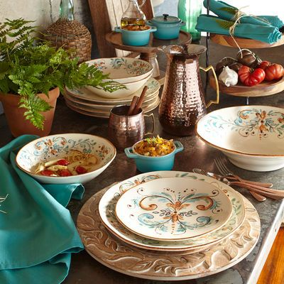 Terracina Italian-Made Dinnerware & Terracina Italian-Made Dinnerware | Place Settingsu20ac | Pinterest ...
