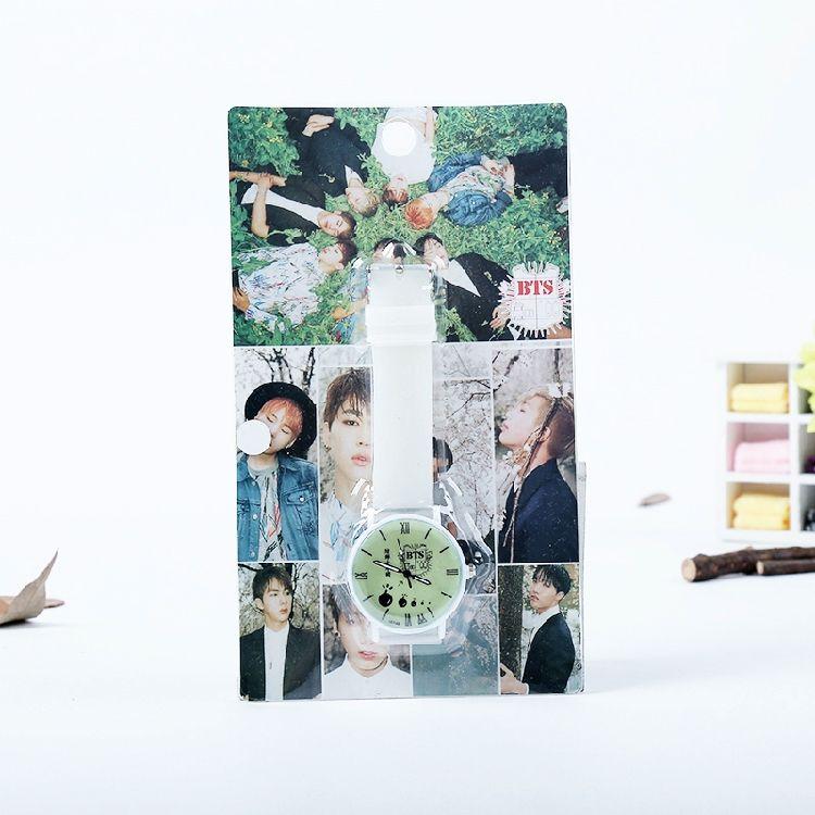 Barato 2016 BTS Bangtan Meninos MODA resina relógio luminoso permanente à prova d' água relógio branco, Compro Qualidade Pulseiras de IDENTIFICAÇÃO diretamente de fornecedores da China: inícioKpop jungkook jimin jhope mesmo estilo do bordado f...EUA $8.50Kpop BTS Bangtan Meninos o Confessions Tour foto.