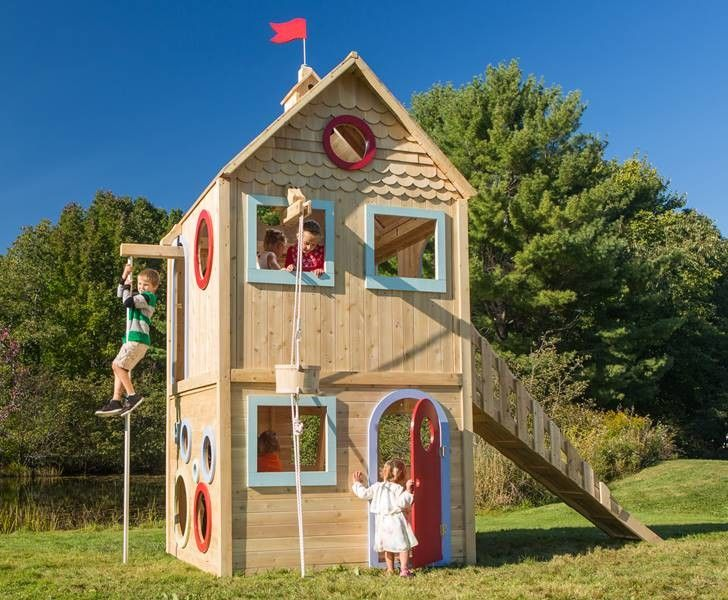 Cedarworks Eco Friendly Playhouses Encourage Outdoor Play Year Round
