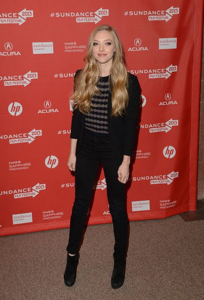 """Amanda Seyfried Photos Photos - Actress Amanda Seyfried attends the 'Lovelace' premiere at Eccles Center Theatre during the 2013 Sundance Film Festival on January 22, 2013 in Park City, Utah. - """"Lovelace"""" Premiere - Arrivals - 2013 Sundance Film Festival"""