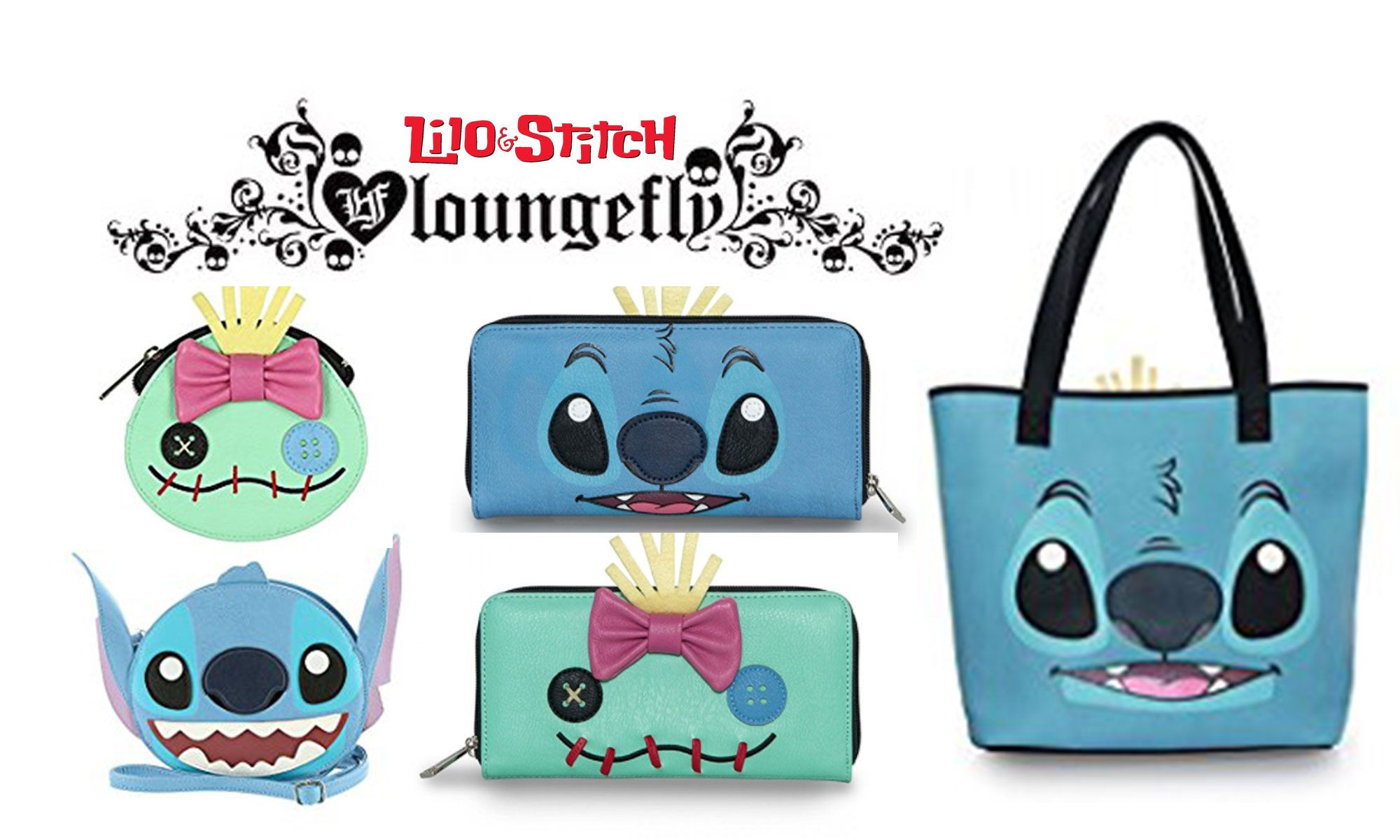 Disney: Lilo /& Stitch Tote Shopper Bag Disneyland Stitch