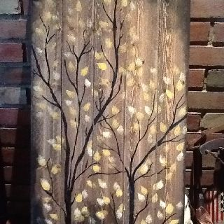Love this painting on pallet boards