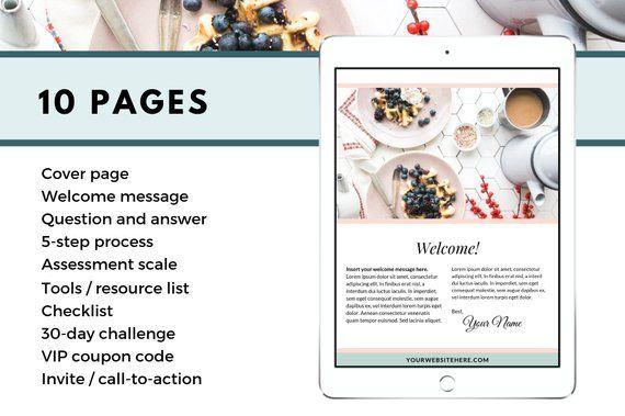 Canva Workbook Template BUNDLE | Canva Template | Workbook