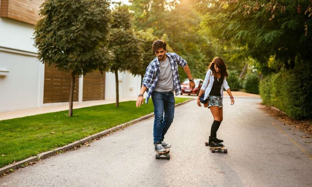 How to ride a skateboard skateboard riding young at heart