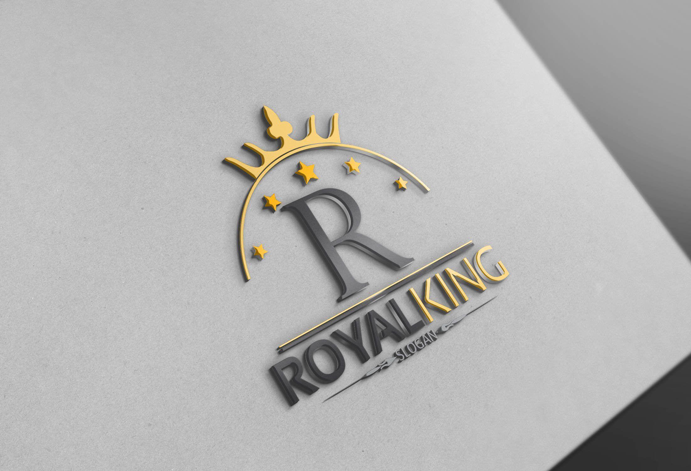 Royal King Logo King Logo Royal King Logo Design