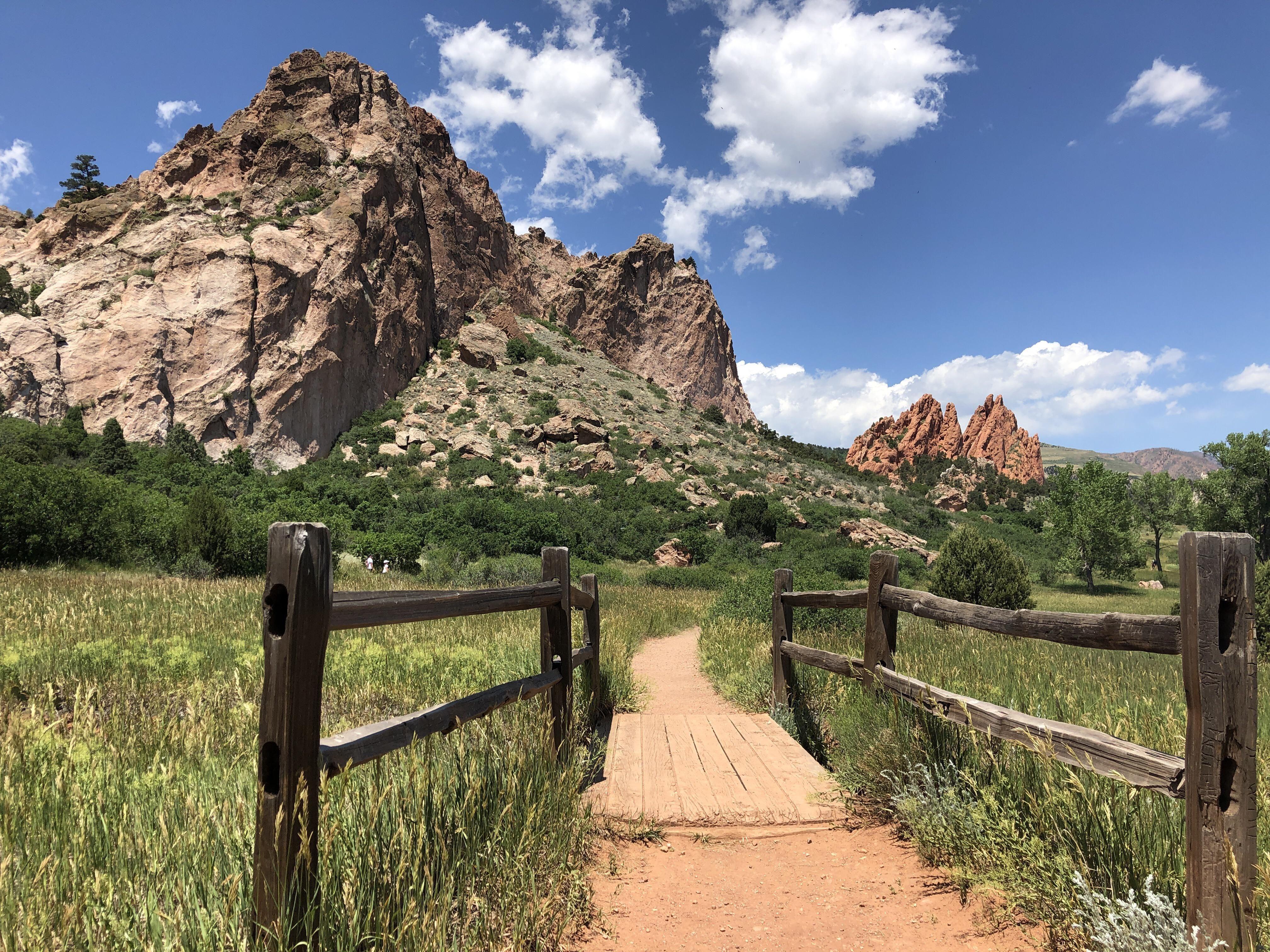 Garden of the Gods Colorado SpringsColoradoUSA hiking