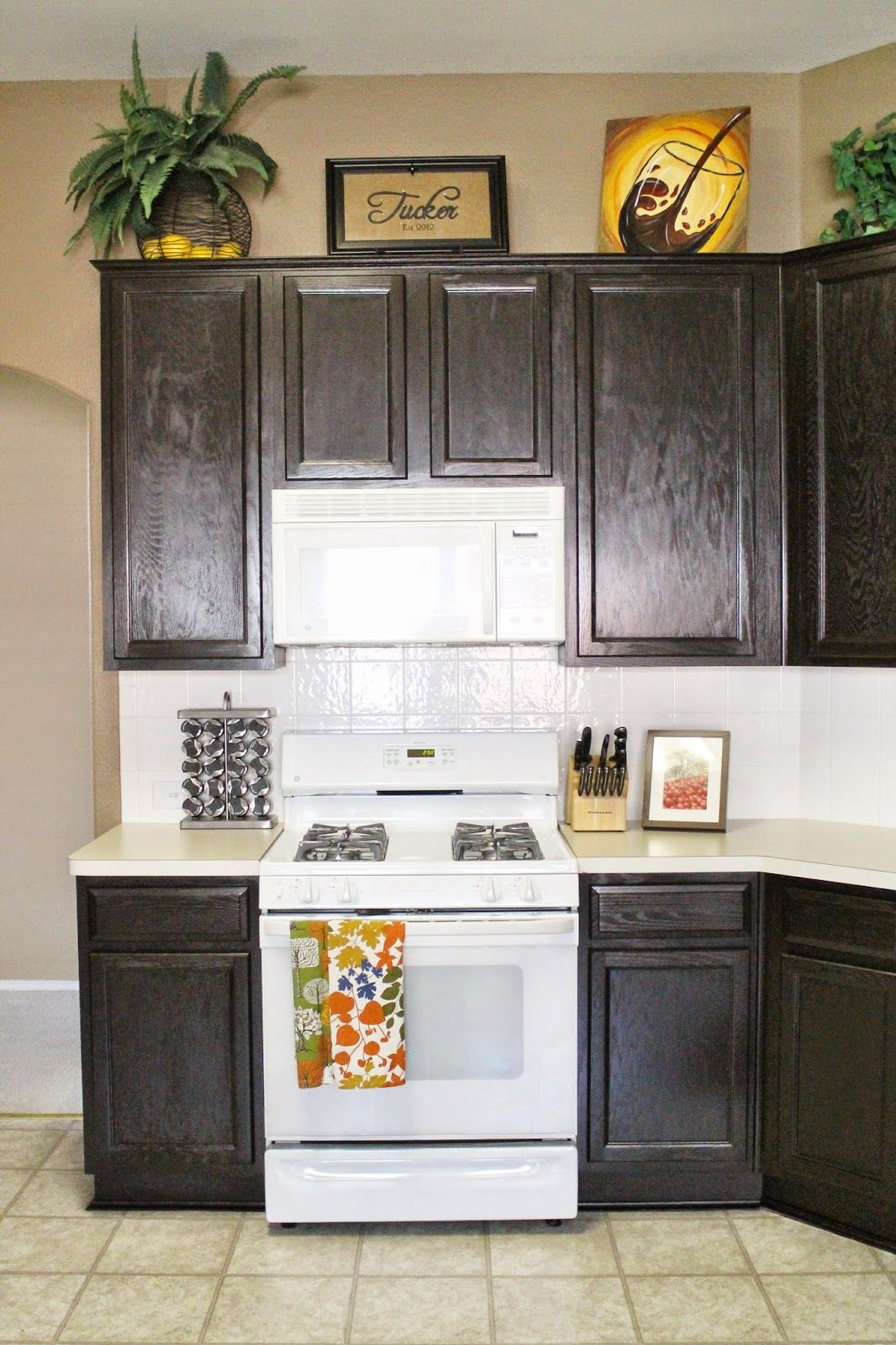 Kitchen Cabinet Reveal! | Home kitchens, Kitchen, Kitchen ...
