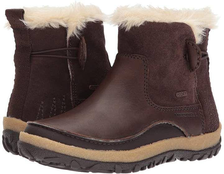 6d89533bfddf Merrell Tremblant Pull-On Polar Waterproof Women s Waterproof Boots ...