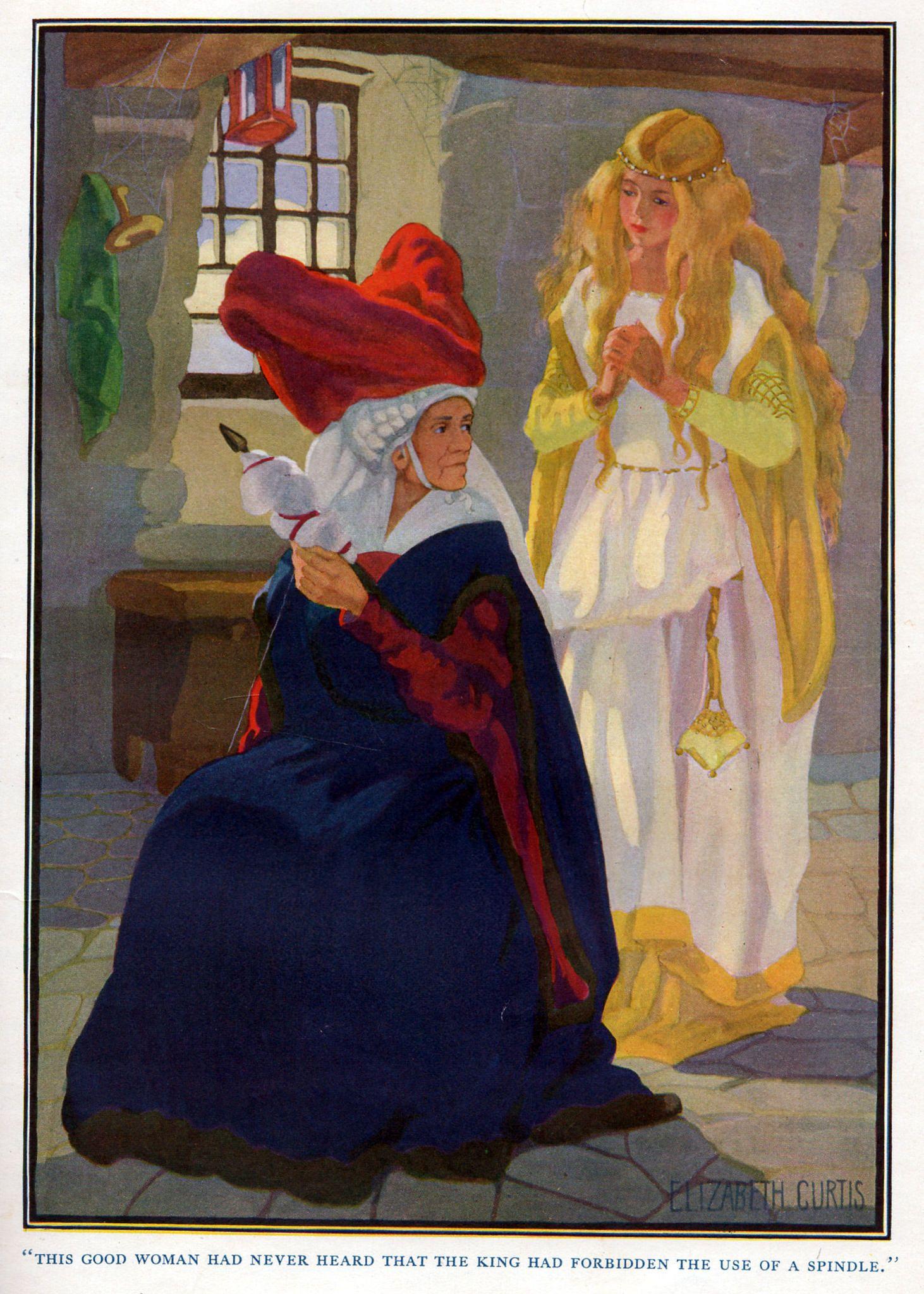 The evil fairy-witch   Evil fairy, Fairy tales, Sleeping ...