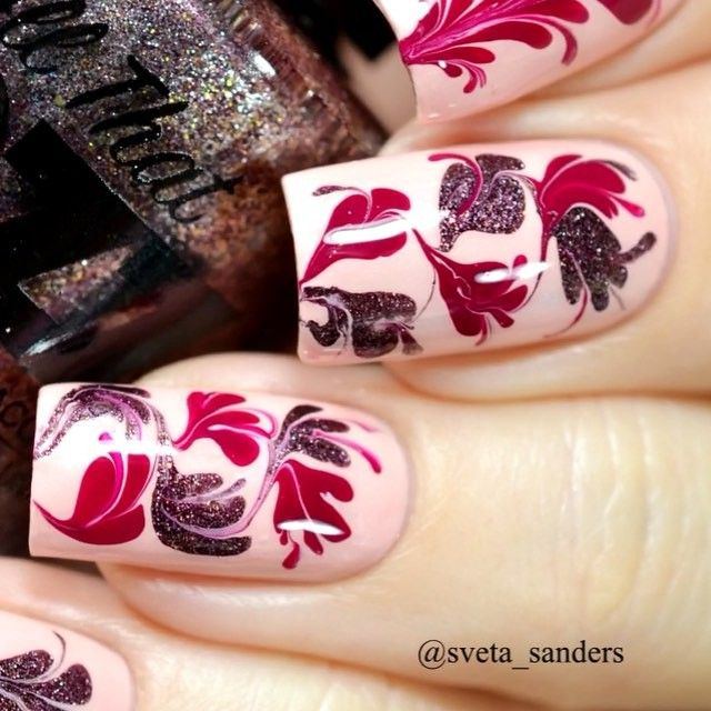 videotutorial Nail polishes: by @allthatjazzuk Rosy Lee, Something ...