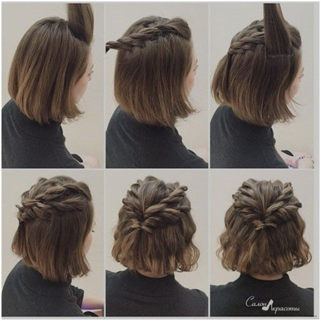 Elegante Frisuren Einfache Hochsteckfrisur Kurze Haare Lässige Für