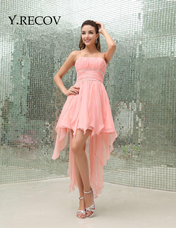 Cheap 8th Grade Graduation Dresses YD2214 Watermelon High School ...