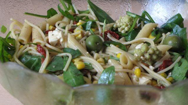 Gourmandises végétariennes: Nudelsalat