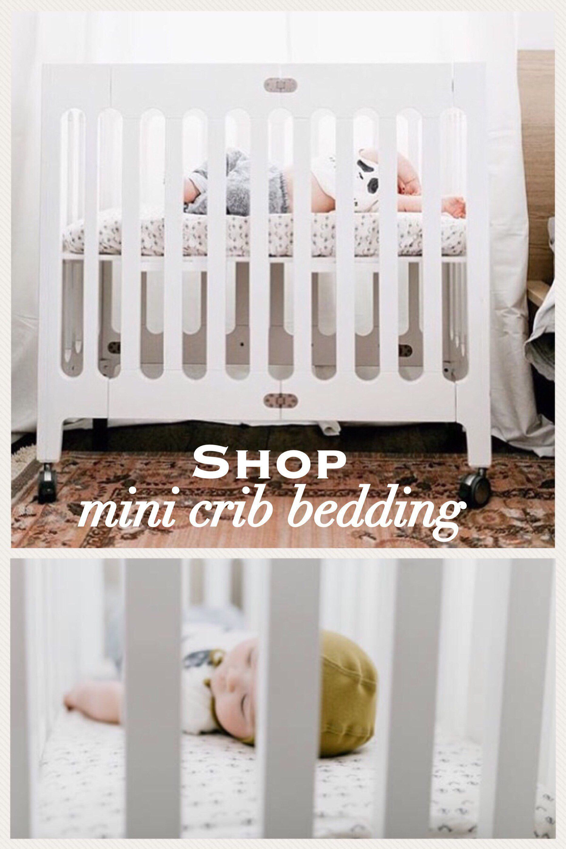 Organic Mini Crib Bedding Modern Ready To Ship Fitted Crib Etsy Mini Crib Bedding Mini Crib Organic Crib Bedding