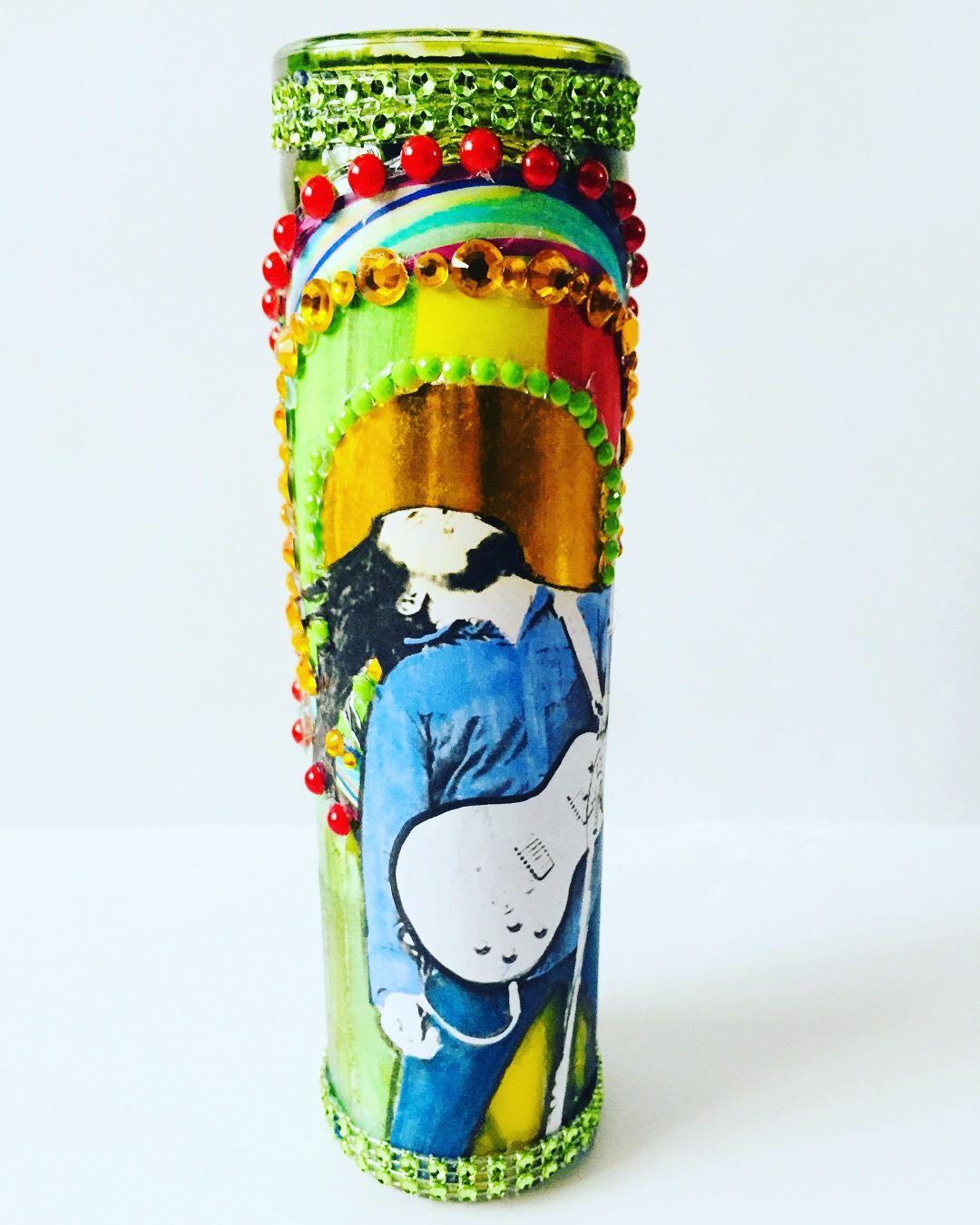 Small Homedecorating: Sacred Saints Of Rock Bob Marley Handmade One Of A Kind