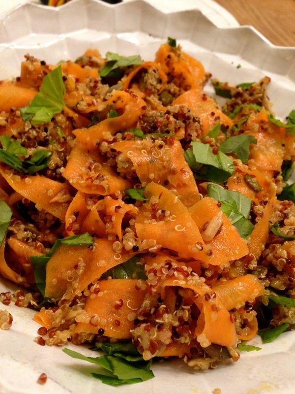 Morrocan carrot and quinoa salad