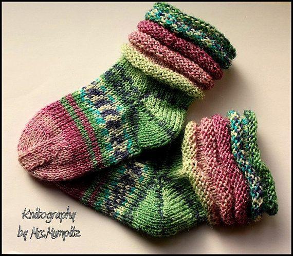 knitted socks children/' s hand knitted socks handmade children/' socks
