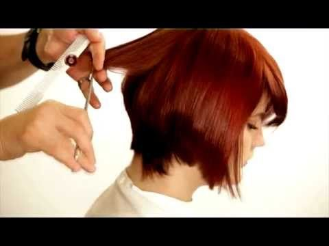 Learn How To Cut Graduated Bob Using The Hirmiz Level Cutting Comb