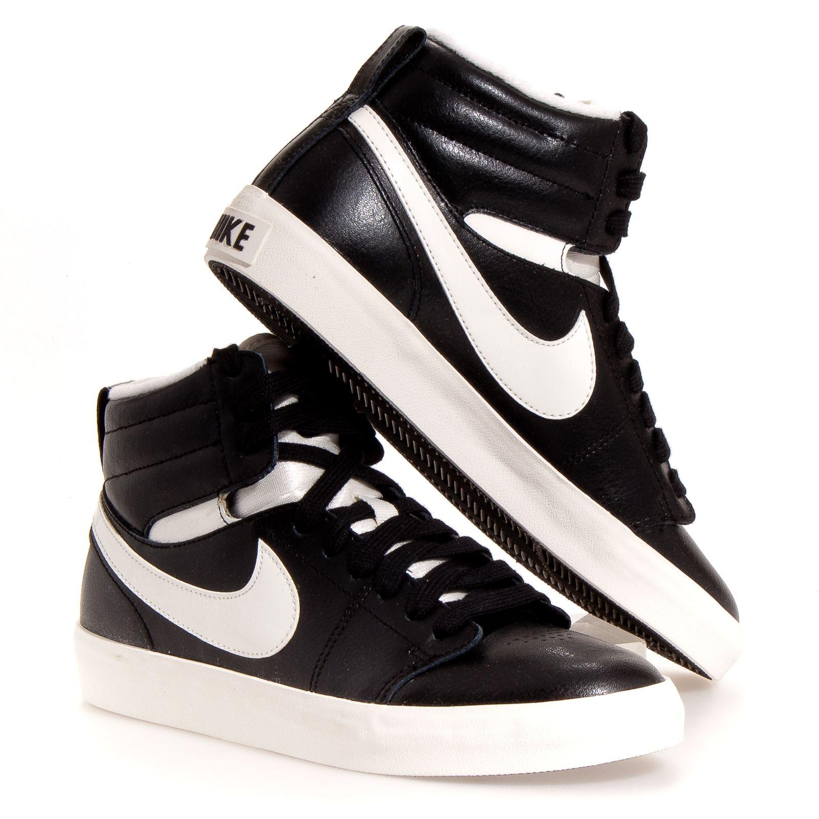 Nike Chaussures Noir Et Blanc Panier De Basket sortie prédédouanement ordre Remise véritable BkyOUikvhD
