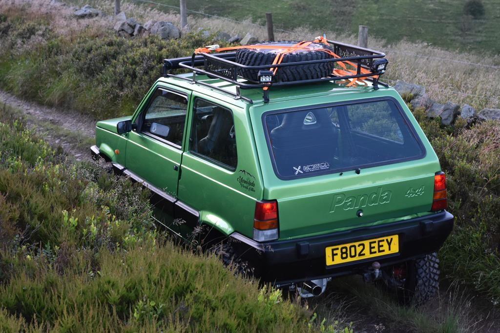1988 fiat panda 4x4 sisley modified greenlaner retro for Panda 4x4 sisley off road
