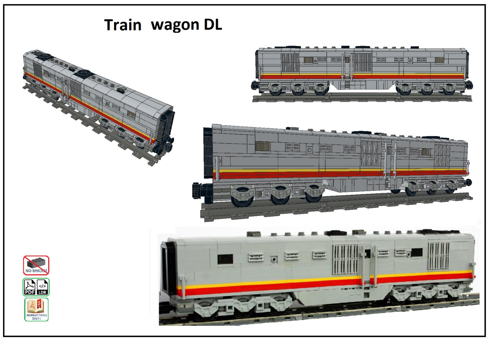Details about LEGO MOC Trains Collection (Locomotives
