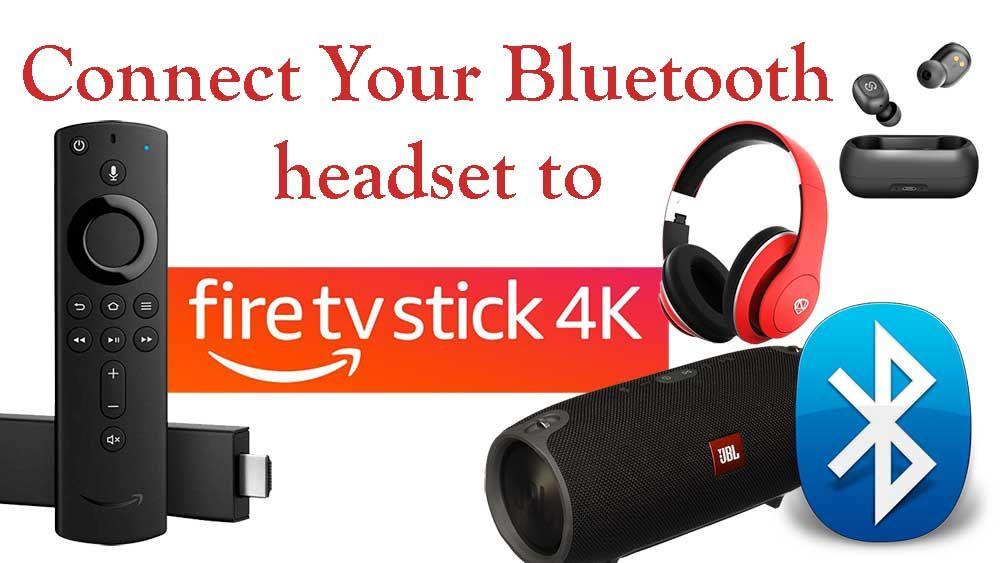 Connect Bluetooth Headphone Headset Earphone To Fire Tv Android Tv In 2020