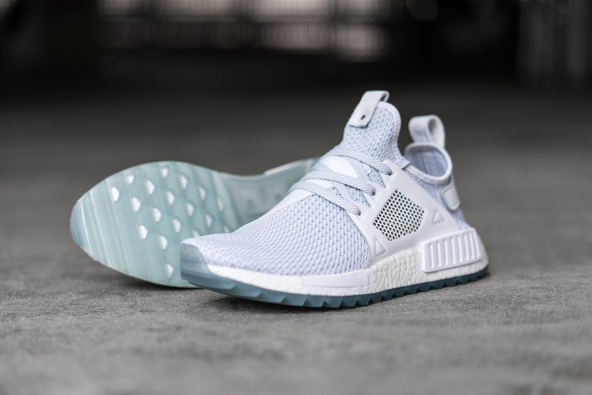 Adidas Originals NMD XR1 Primeknit Black Blue S32215 Size