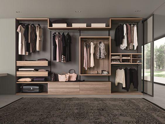Mueble estilo industrial y nrdico Closet fabricado con