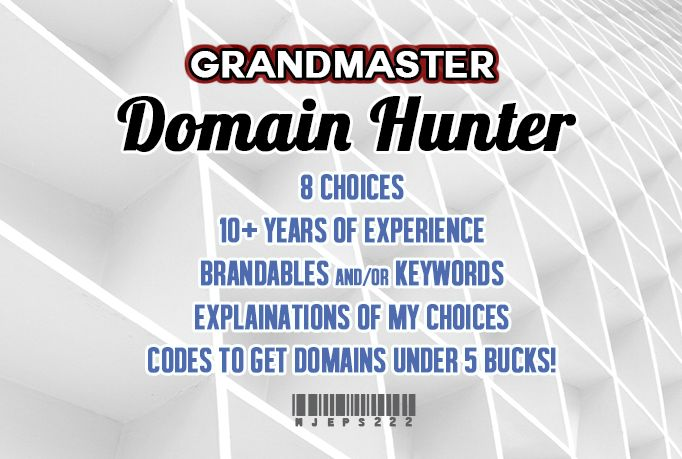 We will create 8 AMAZING startup .com domain names with matching available .com for only $5, on fiverr.com