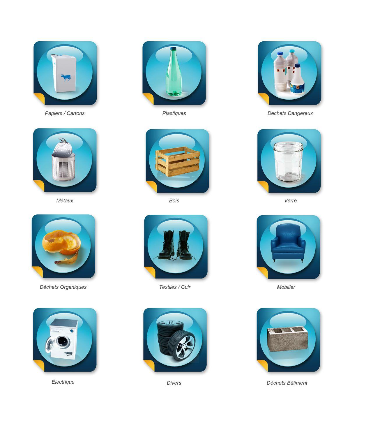 pictogrammes d chets pour mpm webdesign dorianthelegend. Black Bedroom Furniture Sets. Home Design Ideas