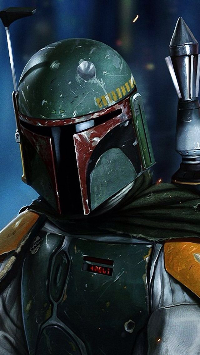 Boba Fett #iPhoneWallpaper #iPhone