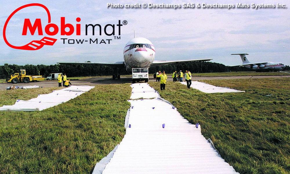 Tow Mat Mobi Mat Aircraft Recovery Aircraft Towing Passenger