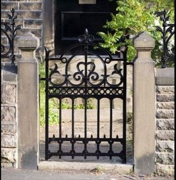 Cast Iron Garden Gates Traditional Fencing Wiemann Metalcraft