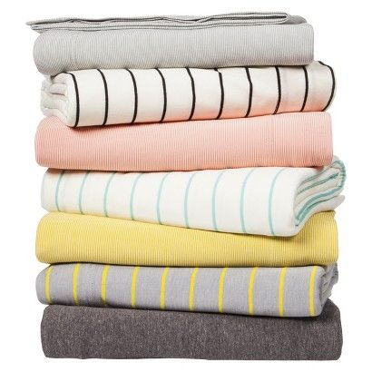 Jersey Sheet Set - Heathers and Prints House Thangs Pinterest