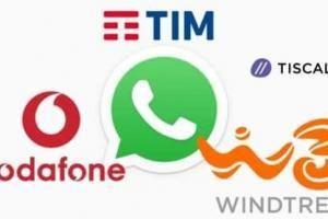 Servizio clienti di TIM Vodafone e WindTre con Whatsapp