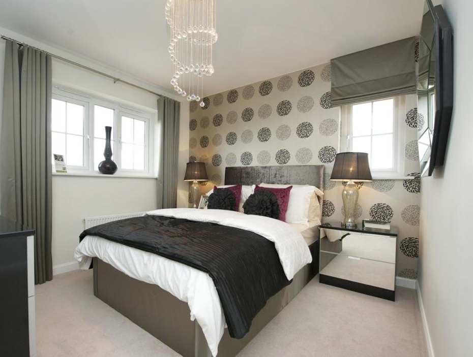 Barratt Homes   Newcastle Under Lyme (The Morpeth Design) Interior Designed  Guest Bedroom.
