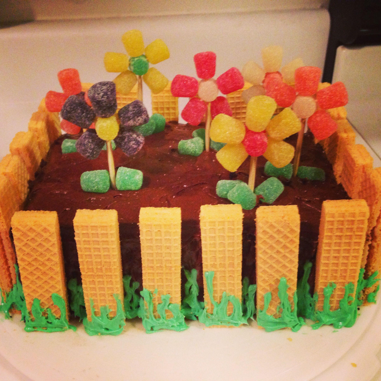 Flower garden birthday cake my best cake yet cakes pinterest flower garden birthday cake my best cake yet izmirmasajfo