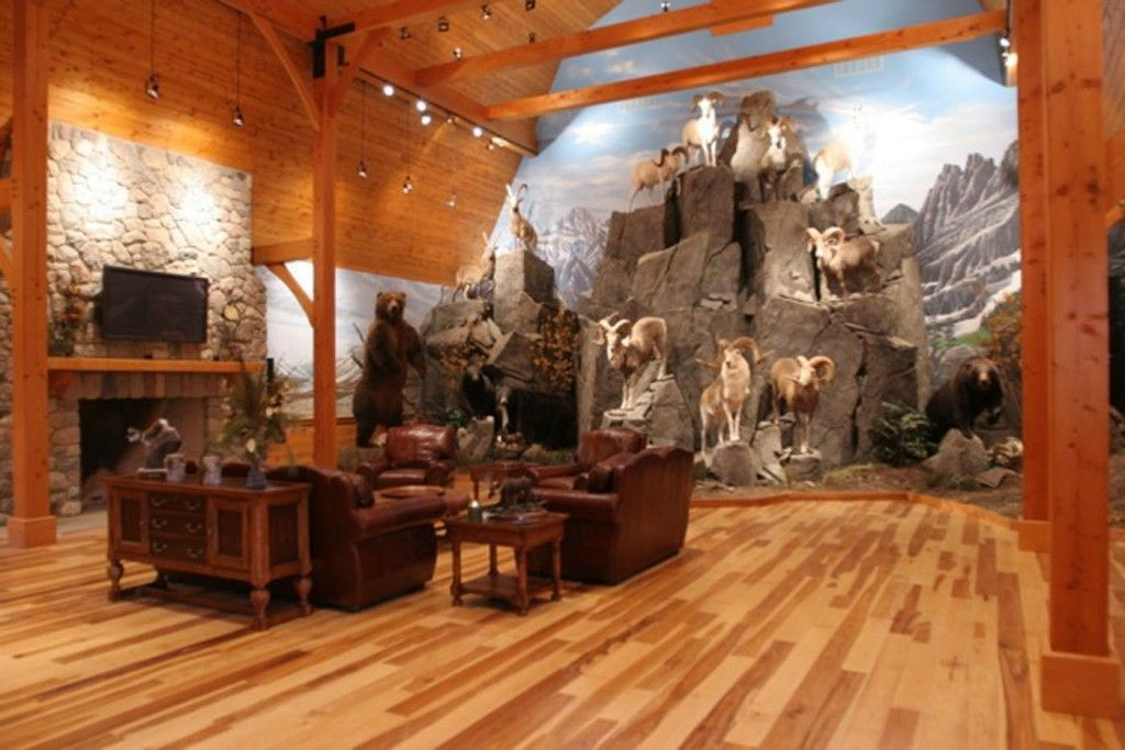 Awesome Man Cave Art : Ultimate man cave house with the is