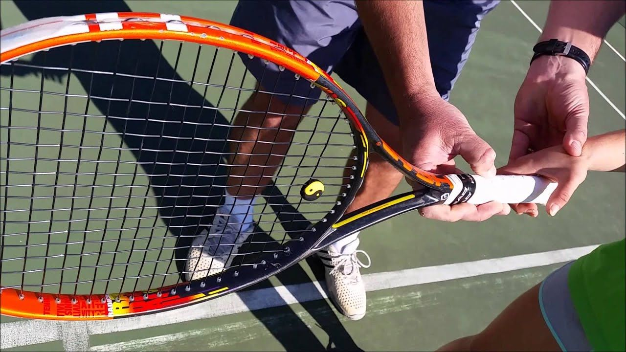 How to Grip a Tennis Racket Properly Tennis, Tennis