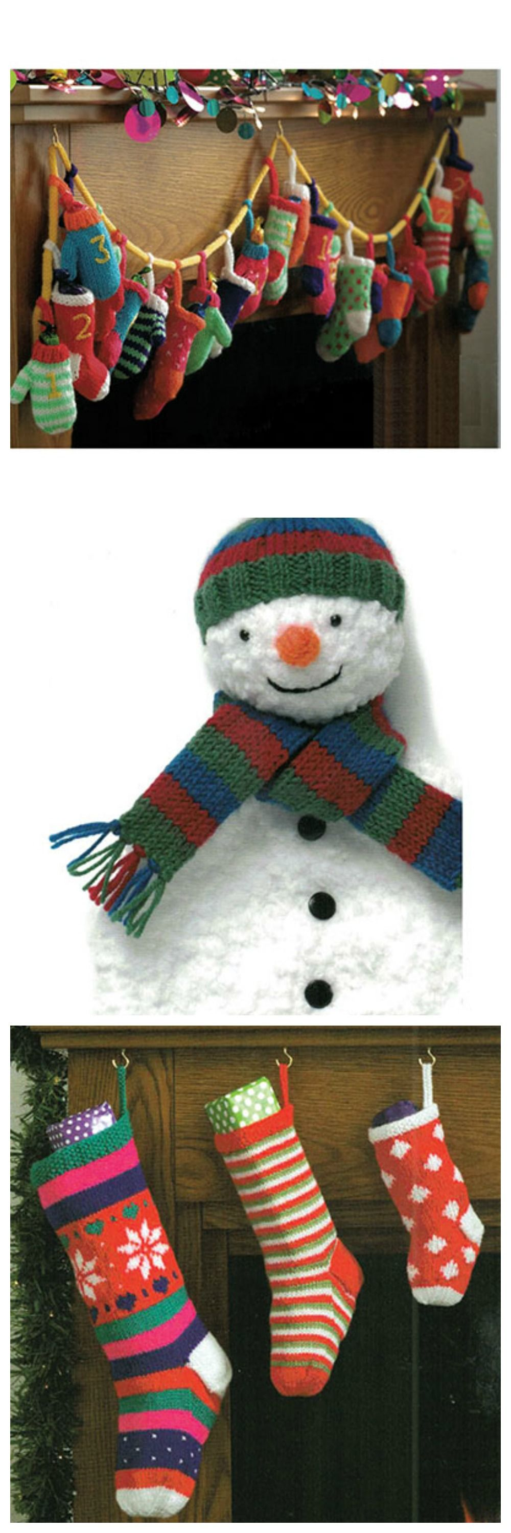 Festive and fun knitting projects from King Cole Christmas ...